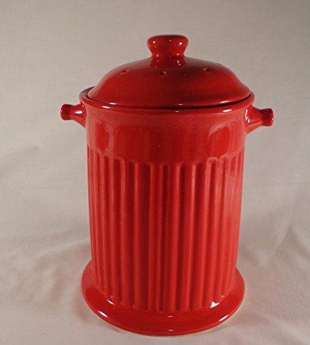 Rich Compost (COOKIE JAR / COMPOST PAIL, BRIGHT RICH RED)