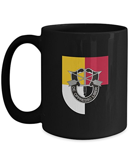 Special Forces Coffee Mug - 3rd SFG - Dui Patch Military