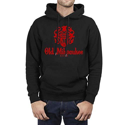 Ruslin Long Sleeve Mens Old Milwaukee Beer Sweatshirt (Apparel Milwaukee Old)