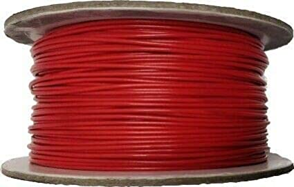 12V 24V 50m REEL 8.75 AMP RED SINGLE CORE CAR BOAT BIKE WIRE AUTOMARINE