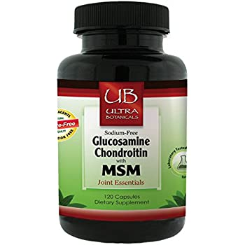 Emerald Laboratories (Ultra Botanicals) - Glucosamine Chondroitin with MSM - Joint Essentials - Supports Overall Joint Health, Helps Alleviate Pain, Stiffness, & Strengthen Cartilage - 120 Capsules