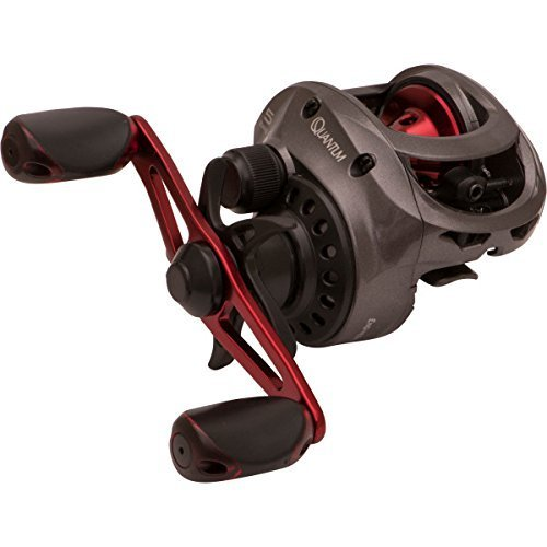 (By-Quantum Fishing Saltwater Baitcasting Reel, Right Hand 4bb 1rb Small Baitcaster Reel)