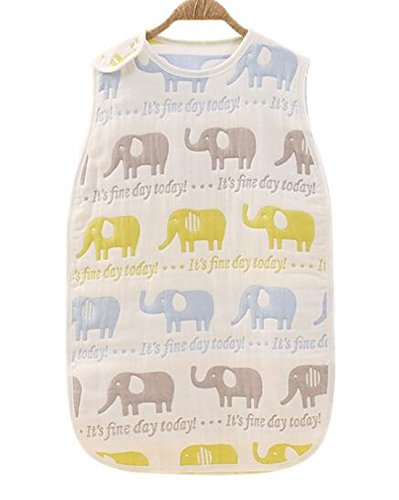Muslin Sleeping Bag Elephant - 6