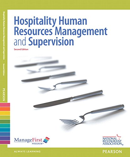 ManageFirst: Hospitality Human Resources Management & Supervision w/ Answer Sheet (2nd Edition)