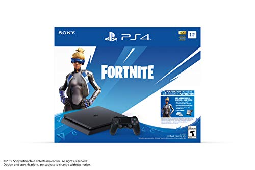Sony Slim 1TB Console – Fortnite Bundle – PlayStation 4