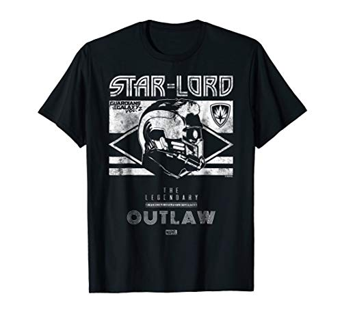 Star-Lord Guardians of Galaxy 2 Legend Graphic Shirt]()