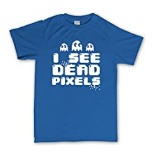 I See Dead Pixels People Pac Ghosts T-shirt