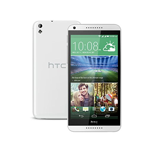 HTC Desire 816G (816h) Factory Unlocked (3G dual-SIM | 16GB | White) - International Version No Warranty