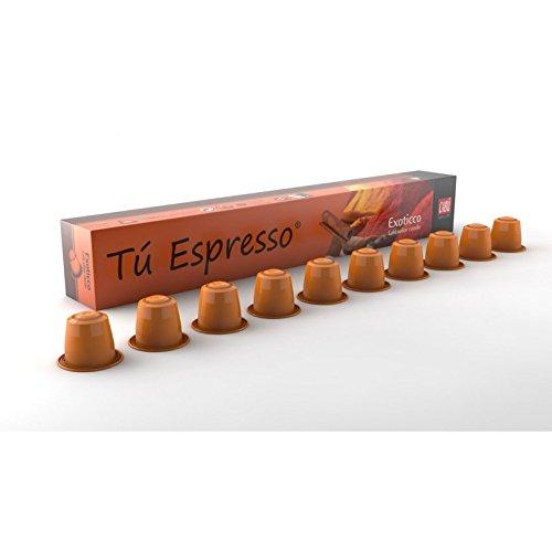 CABU COFFEE (Nespresso Original line compatible) - Arabica & CINNAMON - 40 count / capsules by Unknown