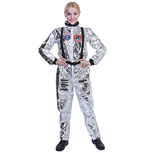 EraSpooky Women Astronaut Spaceman Costume