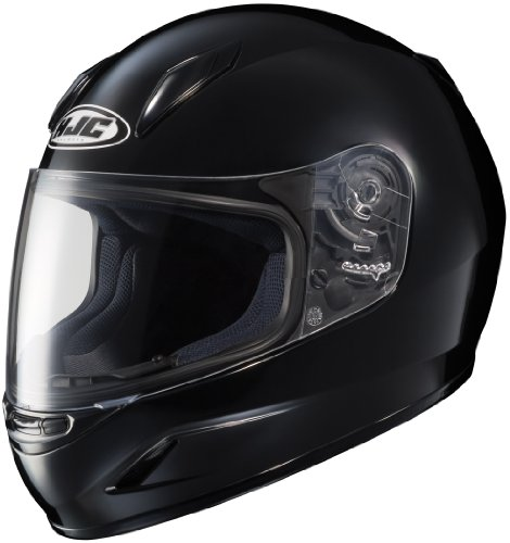 HJC Helmets CL-Y Youth Helmet (Black, Medium)