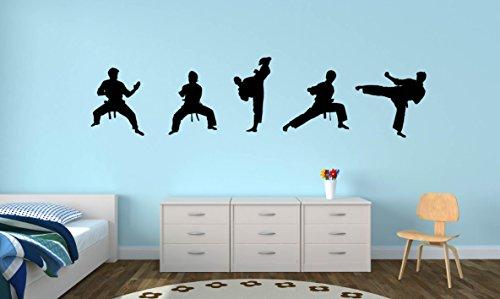 Asian Decal Set - Karate Martial Arts Set Wall Decal - 88