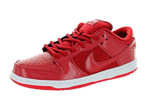 Nike Mens Dunk Low Pro SB Skate Shoe, Varsity Red/Varsity Red/White, 44 D(M) EU/9 D(M) UK