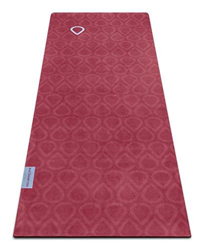 Eco Natural Yoga Mat Towel Combo: Bikram Yoga Mat And Towel Combo 4.5mm