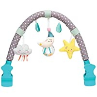 Taf Toys Mini Moon Arch | Ideal for Infants and Toddlers, Fits Stroller and Pram, Activity Arch with Fascinating Toys…