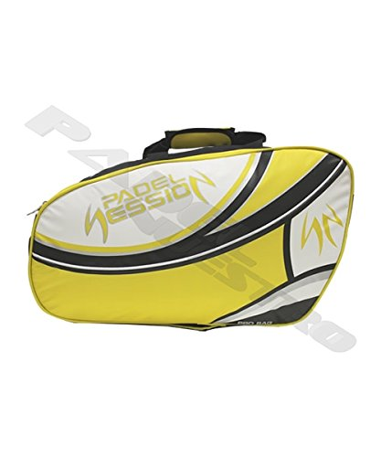 Padel Session PALETERO Premium Amarillo: Amazon.es: Deportes ...