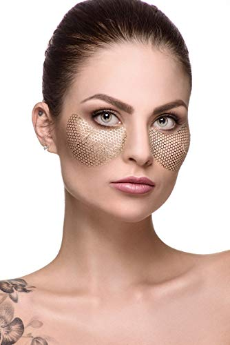Fast Beauty Co. Eyespresso 1 pair Brightening Gold Honey Comb Under Eye Mask With Hyaluronic & Collagen from Fast Beauty Co.