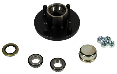 "Southwest Wheel 4-hole, 4"" Bolt Circle Idler Hub for 2,000 lb. Axles (BT8 Spindle)"