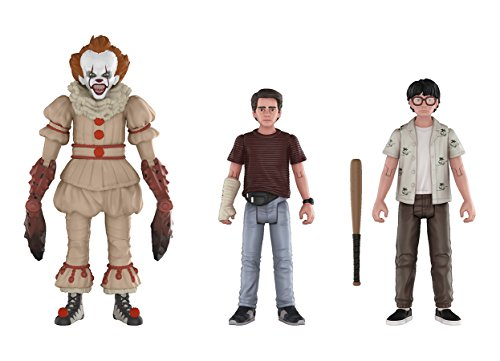 Funko Action Figures: IT Pennywise, Richie, and Eddie (3-Pack)
