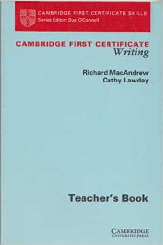 Complete First Certificate Teachers Book Pdf