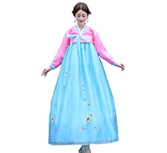 a59faa0c6 Amazon.com: CRB Fashion Womens Ladies Korean Traditional Hanbok ...
