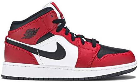 Jordan Nike Air 1 Mid Youth Chicago Black Toe - Size 3.5Y