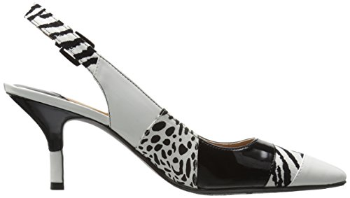 J.renee Womens Laceyann Dress Pump Nero / Bianco