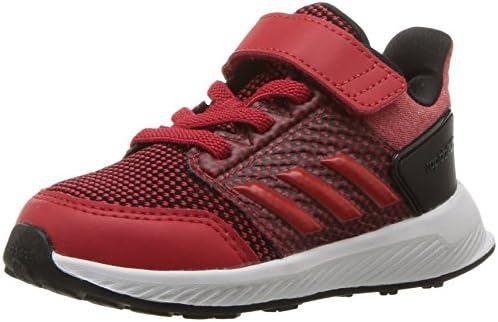 adidas ユニセックス・キッズ RapidaRun EL I カラー: レッド