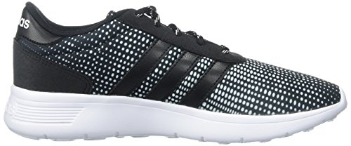 adidas Neo Damen Lite Racer W Casual Sneaker Schwarz / Schwarz / Weiß