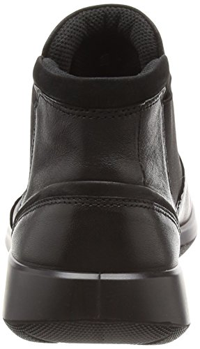 ECCO Soft 5, Botas Chelsea para Mujer Negro (Black/black)