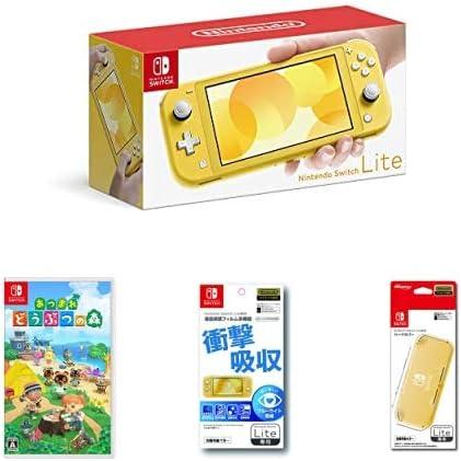 Nintendo Switch Liteと「あつまれ どうぶつの森」「ポケットモンスター ソード・シールド」のセットがお得!