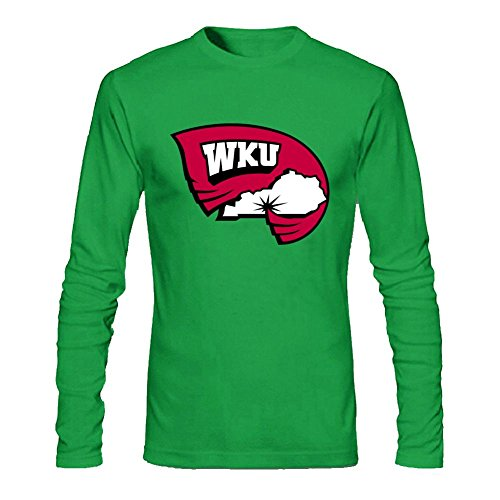 Libling Men's Western Kentucky Hilltoppers Long Sleeve T-Shirt X-Large Forest Green