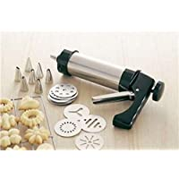 Cookie maker and biscuit tool to decorate cake with cream-safa (color black)