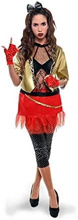 Disfraz de Punky de los años 80 para mujer: Amazon.es: Juguetes y ...