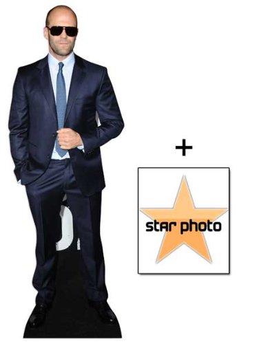 FAN PACK - Jason Statham Lifesize Cardboard Cutout / Standee - INCLUDES 8X10 (25X20CM) STAR PHOTO - FAN PACK #348