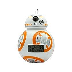 Disney Star Wars BB8 Light Up Alarm Clock