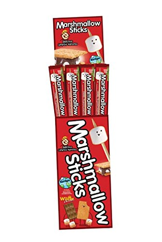 Marshmallow Sticks Wood Roasting Campfire Wholesale in Floor Display Case (480 sticks) by Marshmallow Sticks