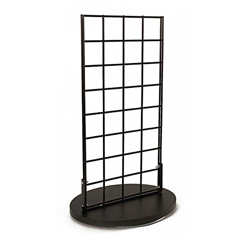 KC Store Fixtures 24113 Countertop Spinner Display, 2-Sided Grid 3