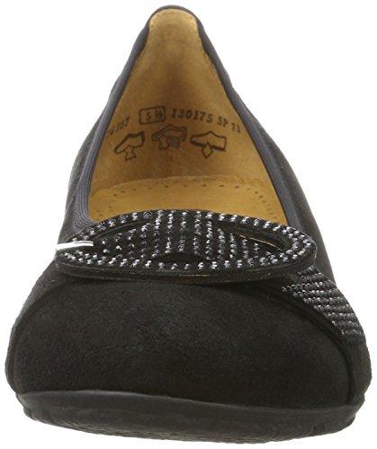 Casual para Bailarinas 17 Negro Gabor Gabor Mujer Schwarz Shoes fqFpx6wE