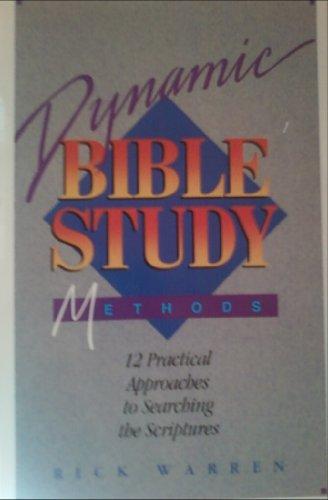 Dynamic Bible Study Methods