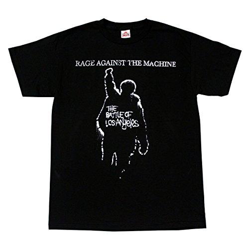 gainst The Machine Rock Band T-Shirt Large Black ()