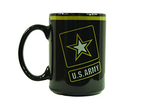 Uniformed Scrapbooks U.S. Army Logo Mug, 15 oz, (Scrapbook Mug)