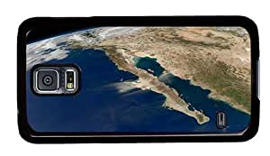 Hipster carry Samsung Galaxy S5 Cases space california PC Black for Samsung S5