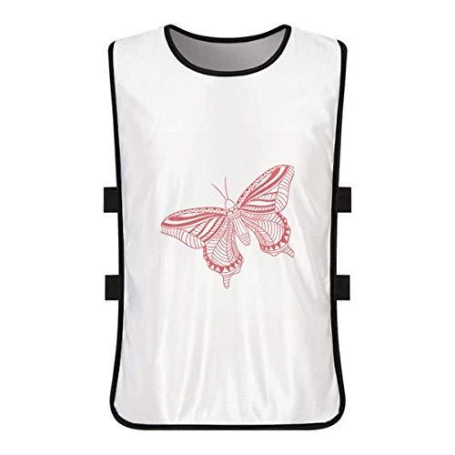 Clothing Kite Butterfly (DIYthinker Pink Butterfly Kite White Training Vest Jerseys Shirt Cloth)