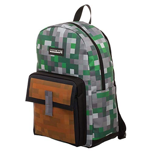 Minecraft Squares Allover Print Backpack