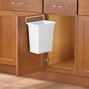 Amazon Com Door Mounted Kitchen Garbage Can Home Amp Kitchen