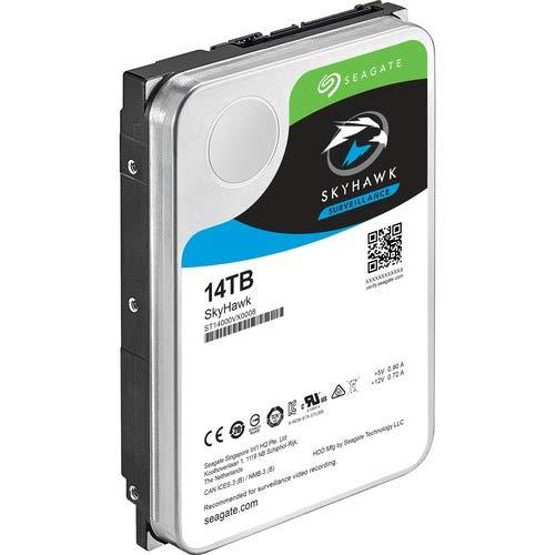 Seagate Skyhawk 14 TB Hard Drive - SATA 600-3.5'' Drive - Internal - 256 MB Buffer