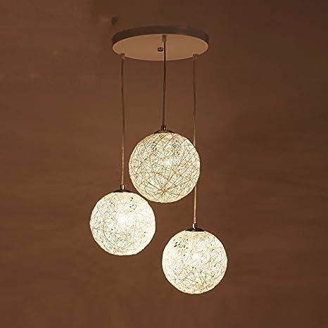 Moderno minimalista sfera soggiorno lampadario, camera da ...