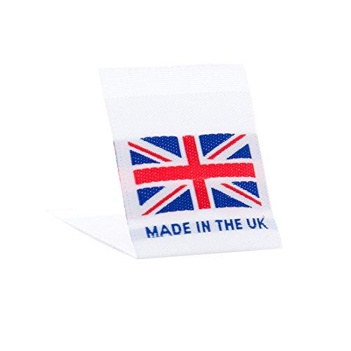 61dad582de26 Wunderlabel UK Flag Woven Crafting Craft Art Fashion Classic Ribbon ...