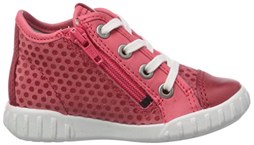 Ecco Mimic, Chaussures premiers pas pour bébé (fille) - Rouge - Rot ( ChiliRed/Teaberry Firefly/Poly Do59013), 19 EU: Amazon.fr: Chaussures et  Sacs